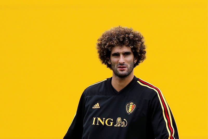Belgium coach Martinez hints at Fellaini recall