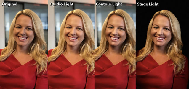On the iPhone 8 Plus, the new studio lighting modes are pretty awesome.