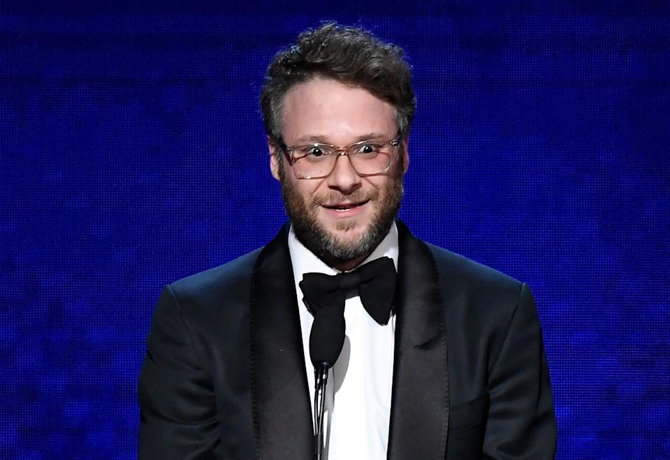 <p>File image: Seth Rogen speaks onstage during the 33rd American Cinematheque Award Presentation</p> (Getty Images)