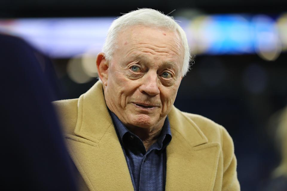 Will Jerry Jones' decision to bank on Mike McCarthy's experience and flexibility pay off? (Photo by Rey Del Rio/Getty Images)