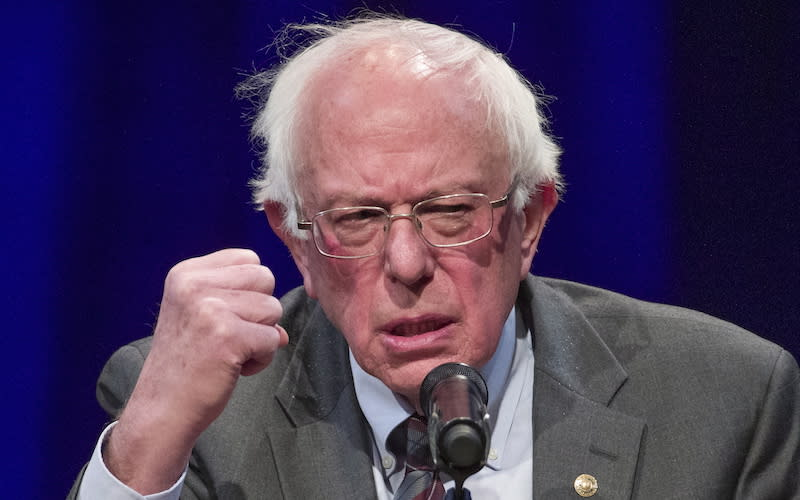"<p>U.S. Sen. Bernie Sanders has his eyes on becoming America's next commander-in-chief. The 77-year-old independent politician finished second to Hillary Clinton in the 2016 Democratic presidential nomination. Sanders has said he wants to transform the country and create a government ""based on the principles of economic, social, racial and environmental justice."" He also mentions the need for a government and economy that ""works for the many, and not just the few."" Getting more Americans health-care coverage, ending voter suppression and tackling income equality are some of the issues Sanders has championed. If elected, Sanders would become the oldest person ever to take over the White House. He has called U.S. President Donald Trump ""the most dangerous president in modern American history."" Photo from The Associated Press. </p>"