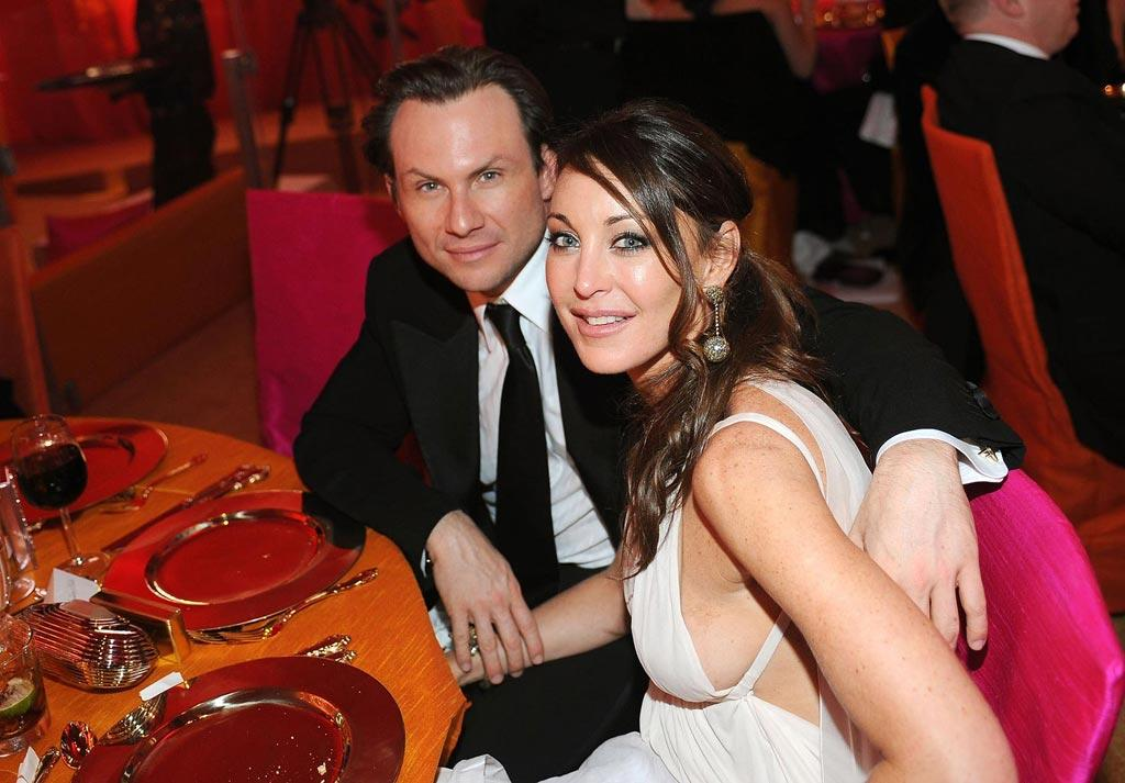 "<a href=""http://movies.yahoo.com/movie/contributor/1800026672"">Christian Slater</a> and Tamara Mellon attend the 16th Annual Elton John AIDS Foundation Oscar Party at the Pacific Design Center in West Hollywood - 02/24/2008"