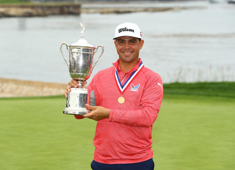 Gary Woodland won the U.S. Open, but he had some help. (Reuters)