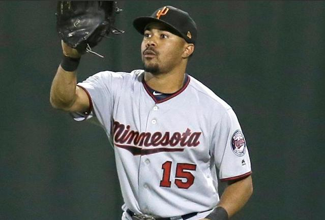 """Twins prospect LaMonte Wade hospitalized after taking impact to """"head and neck"""" in scary Arizona Fall League collision. (AFL)"""