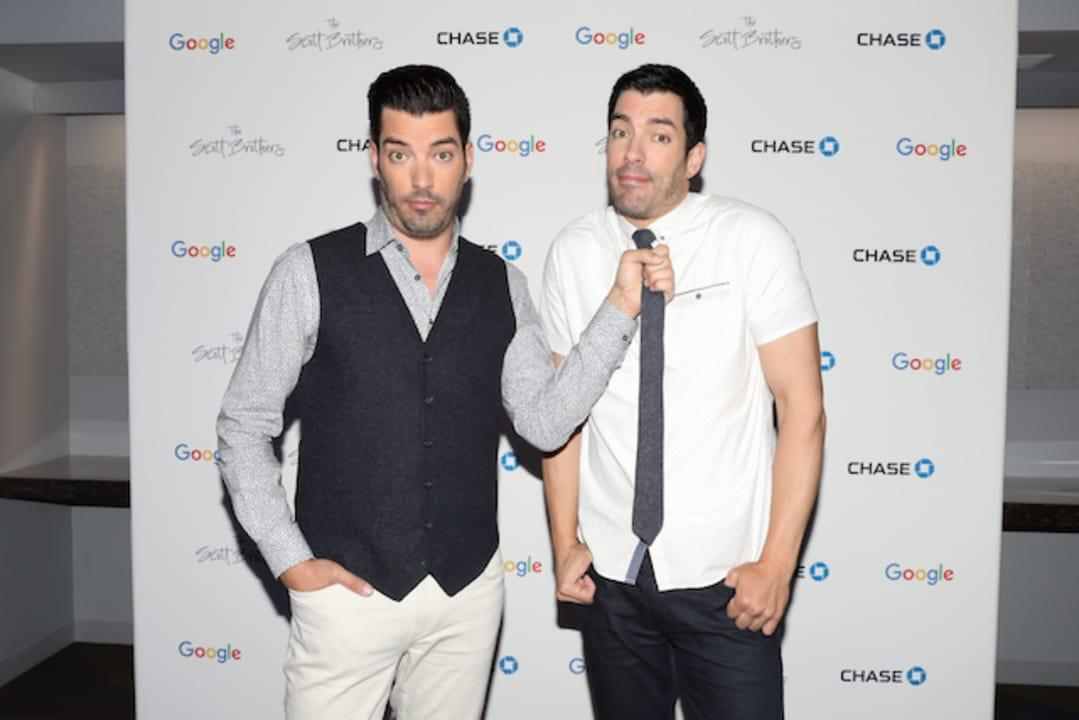 """TV personalities authors Drew Jonathan Scott attended the """"Search for Home"""" panel event at GoogleHQ."""
