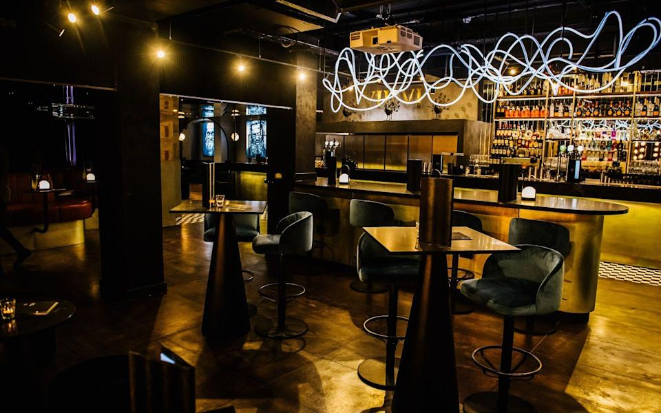 The underground bar at One Eight Six