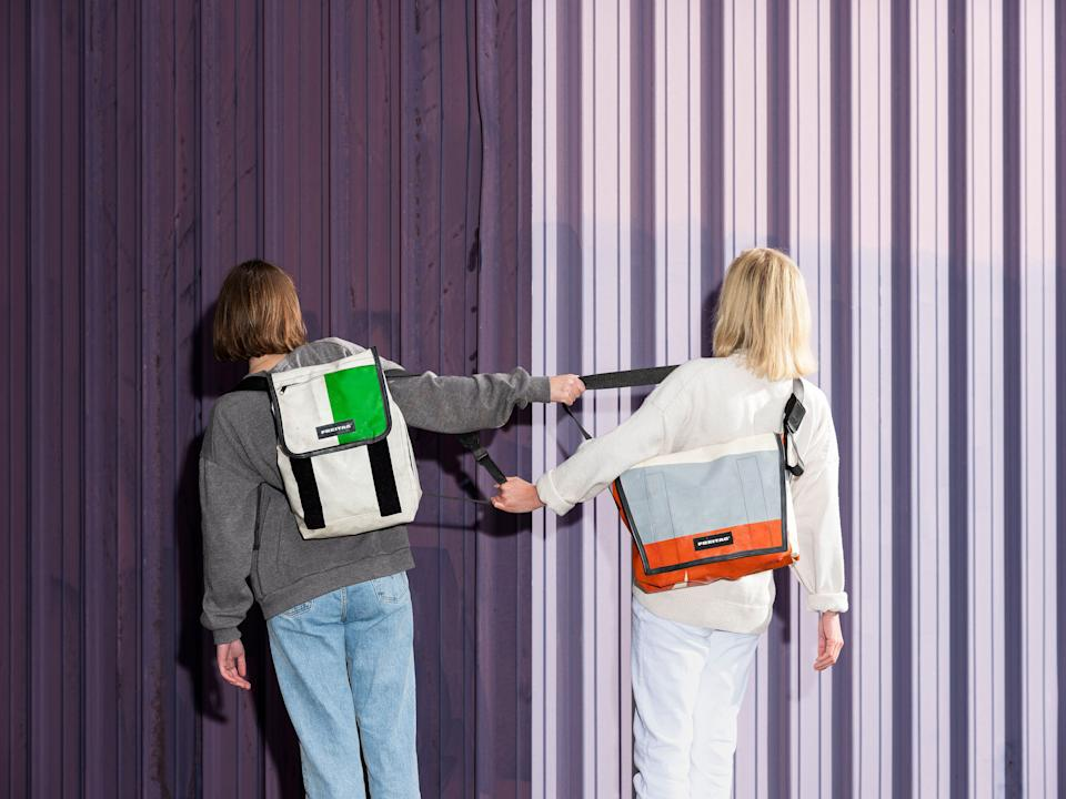 Freitag, the bag company, is closing its website on Black Friday. (Photo: Philip Frowein/ Courtesy of Freitag)