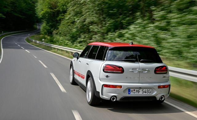 View Every Angle of the 2020 Mini Clubman John Cooper Works