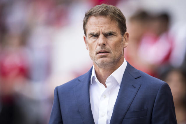 Head Coach Frank de Boer of Atlanta United doesn't think there should be equal pay in soccer or tennis. (Photo by Ira L. Black/Corbis via Getty Images)