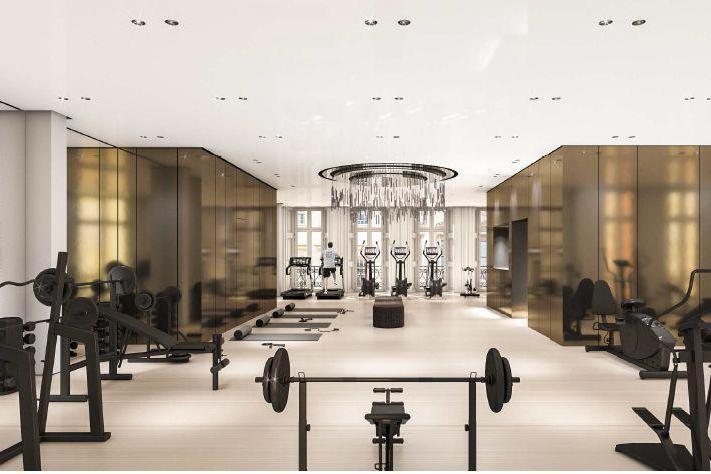 The 'medical gym' at the Arts Club