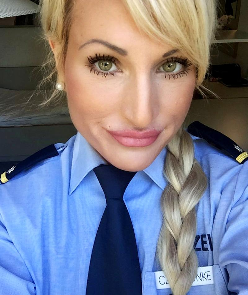 Sarah was a police officer for 11 years before giving it up to become a dominatrix full-time. Photo: MediaDrumWorld/Australscope (supplied).
