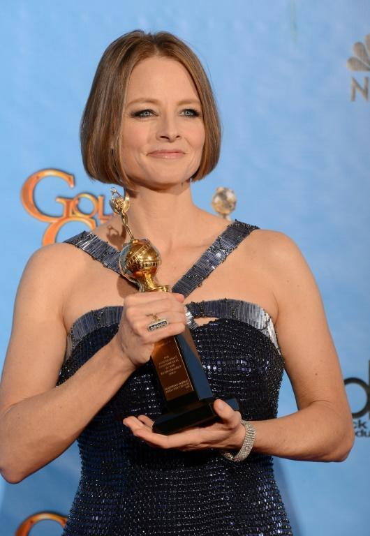 Actress Jodie Foster had a lot to say -- sort of -- when she accepted a lifetime achievement award at the Golden Globes in 2013
