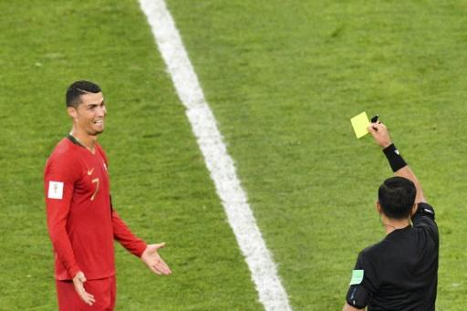 Portugal's Cristiano Ronaldo was at the centre of VAR controversy against Iran
