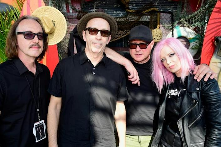 """The music group Garbage has released its seventh record, """"No Gods no Masters"""""""