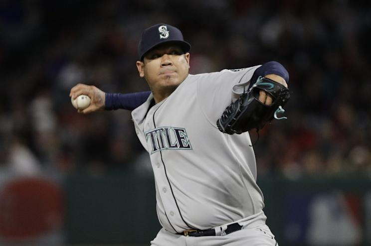 Is Felix Hernandez due to rebound? Or on the slow decline? (AP)