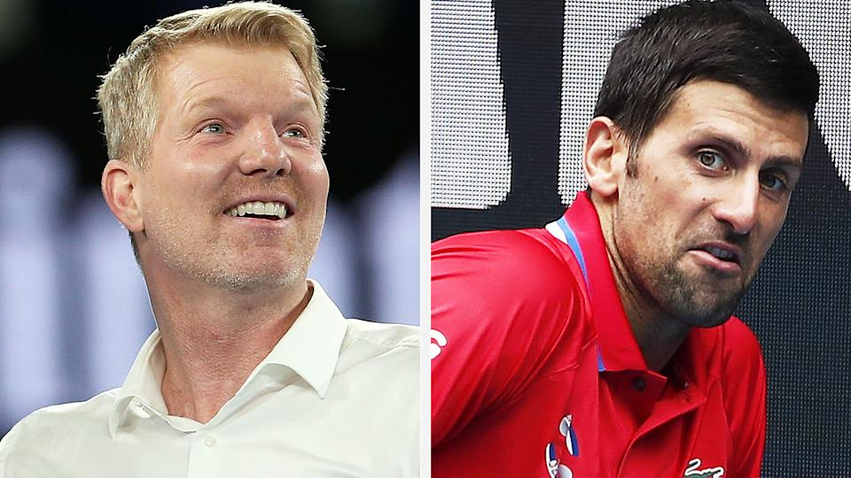 Veteran tennis commentator Jim Courier says criticism of Novak Djokovic over his quarantine requests was overblown. Pictures: Getty Images