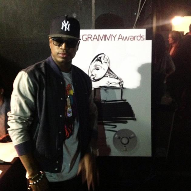 #Neyo backstage after his performance on #GrammyNoms - thegrammys, via Instagram