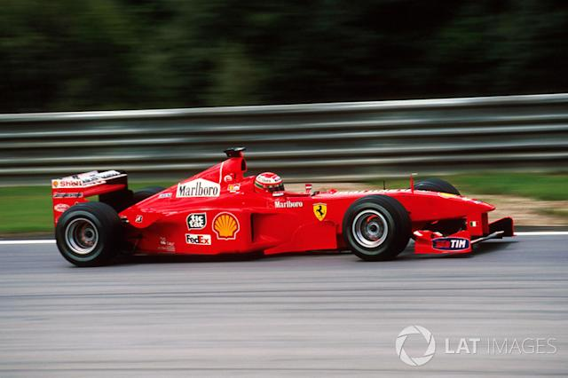 "GP Europa 1999: ¿Y mis neumáticos? <span class=""copyright"">Sutton Motorsport Images</span>"