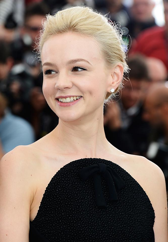 CANNES, FRANCE - MAY 15:  Actress Carey Mulligan attends 'The Great Gatsby' photocall during the 66th Annual Cannes Film Festival at the Palais des Festivals on May 15, 2013 in Cannes, France.  (Photo by Pascal Le Segretain/Getty Images)