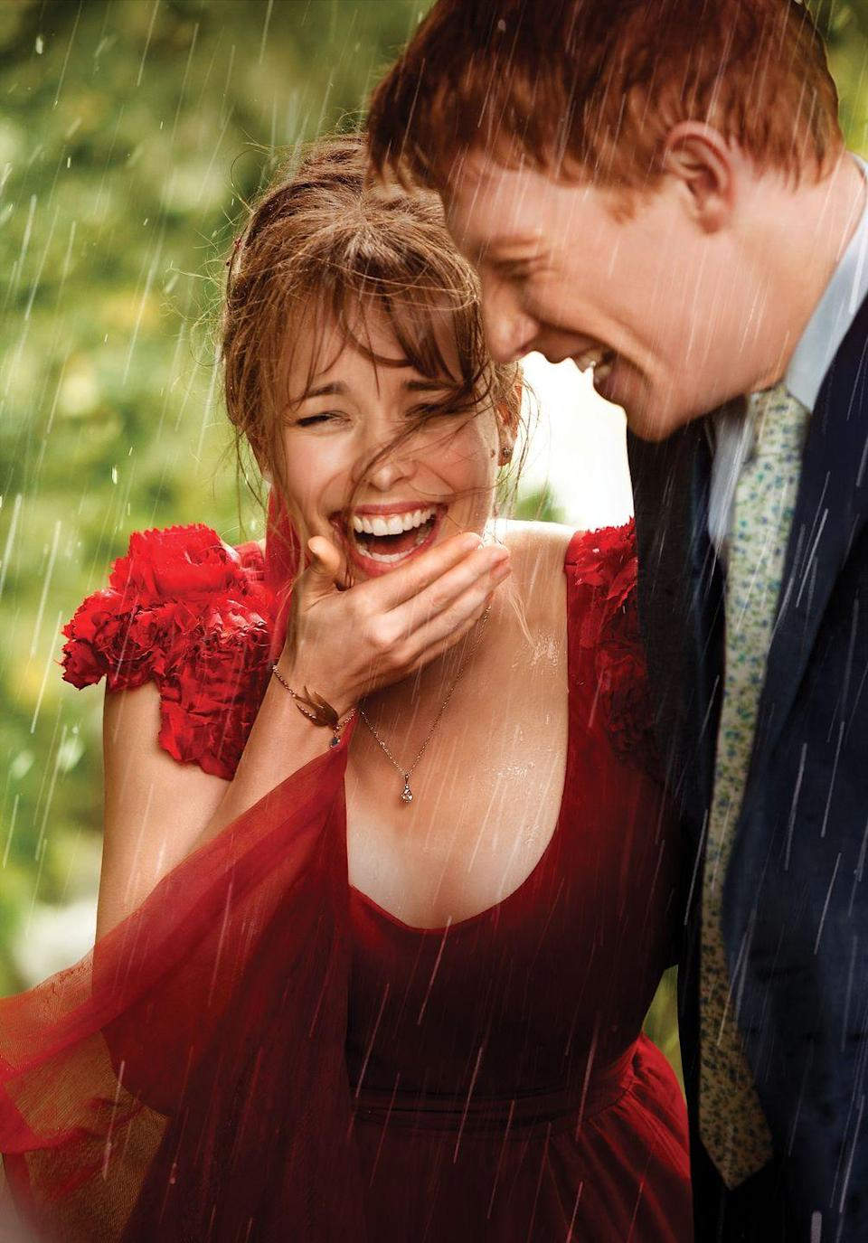 "<p>If you're bored with formulaic tales of romance, look to this time-hopping British delight starring Rachel McAdams and Domhnall Gleeson, from <em>Love Actually</em> director Richard Curtis. Gleeson stars as a bloke who learns his armoire has time-machine powers, so he spends the film jumping back and forth through the years trying to perfect his life. It all makes for a profound and truly romantic watch. <a class=""link rapid-noclick-resp"" href=""https://www.amazon.com/About-Time-Domnhall-Gleeson/dp/B00HYI8A08?tag=syn-yahoo-20&ascsubtag=%5Bartid%7C10056.g.6498%5Bsrc%7Cyahoo-us"" rel=""nofollow noopener"" target=""_blank"" data-ylk=""slk:Watch Now"">Watch Now </a> </p>"