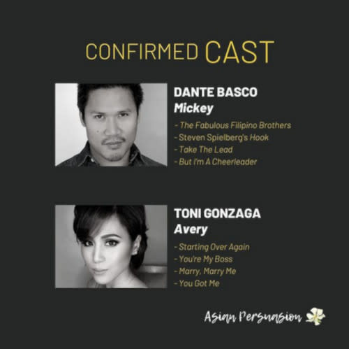 Toni and Dante will be working together in the film