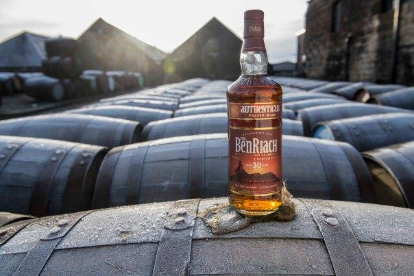 This BenRiach has waited 30 years for you to experience its peat-smoked flavor. Photo courtesy of BenRiach