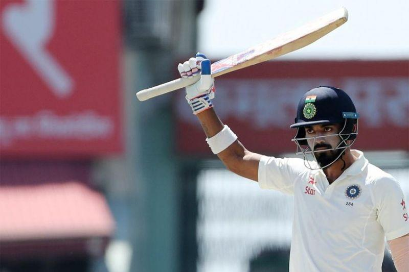 KL Rahul scored yet another fifty in Tests. KL Rahul registered his seventh consecutive fifty in Tests -90, 51, 67, 60, 51*, 57 & 85- joint most by any player in Test cricket history and most by an Indian.After enjoying a great run in the Border-Gavaskar Trophy 2017, the Karnataka batsman has continued his fine form in Test cricket. The stylish right-hander scored an attacking fifty and put the hosts under pressure.However, his intent cost him his wicket as he holed out to the mid-on fielder while looking to send one over the ropes. The opener fell short of his hundred by just 15 runs.