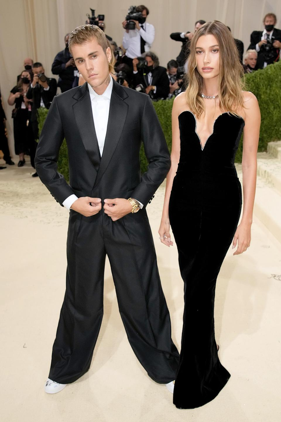 """<h1 class=""""title"""">The 2021 Met Gala Celebrating In America: A Lexicon Of Fashion - Arrivals</h1><cite class=""""credit"""">Jeff Kravitz</cite>"""
