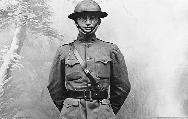 Truman during World War I, 1918