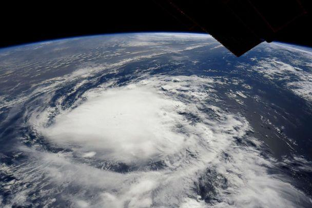 PHOTO: Hurricane Florence this morning as seen from Space Station. (Ricky Arnold/NASA)