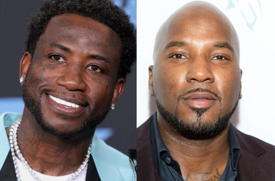 Gucci Mane (left) and Jeezy (right)