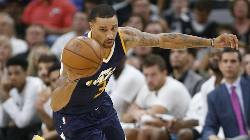NBA playoffs: Jazz's George Hill ruled out for Game 2 with toe injury