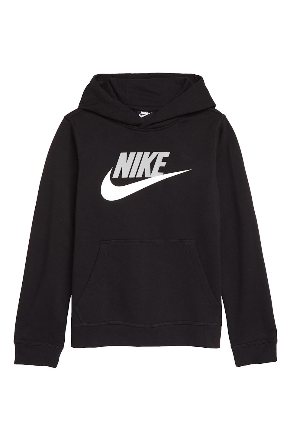 "<p><strong>NIKE</strong></p><p>nordstrom.com</p><p><strong>$33.75</strong></p><p><a href=""https://go.redirectingat.com?id=74968X1596630&url=https%3A%2F%2Fwww.nordstrom.com%2Fs%2Fnike-kids-sportswear-club-fleece-hoodie-little-boy-big-boy%2F5829023&sref=https%3A%2F%2Fwww.redbookmag.com%2Flife%2Fg34811477%2Fblack-friday-cyber-monday-baby-deals-2020%2F"" rel=""nofollow noopener"" target=""_blank"" data-ylk=""slk:Shop Now"" class=""link rapid-noclick-resp"">Shop Now</a></p><p>For the little who likes streetwear.</p>"