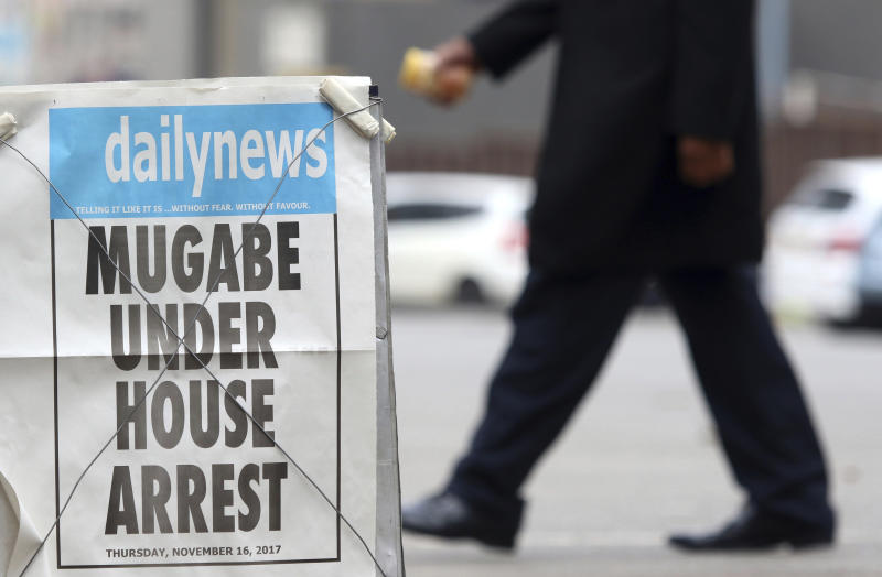 Regional summit expected to formalize terms of Mugabe exit