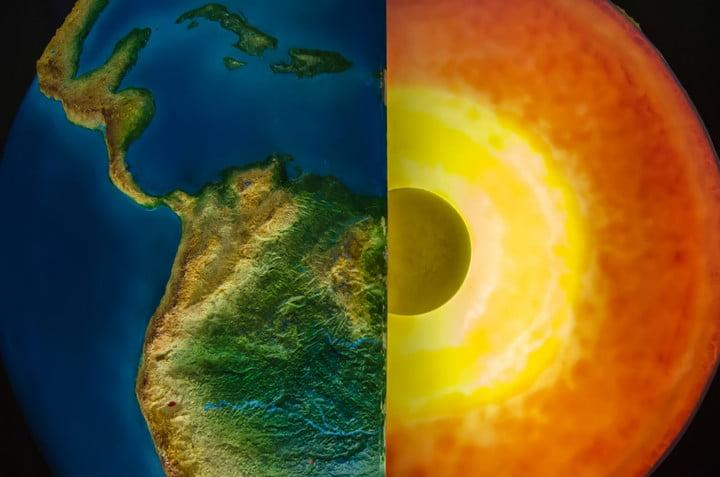 Earth's core spins, according to new research