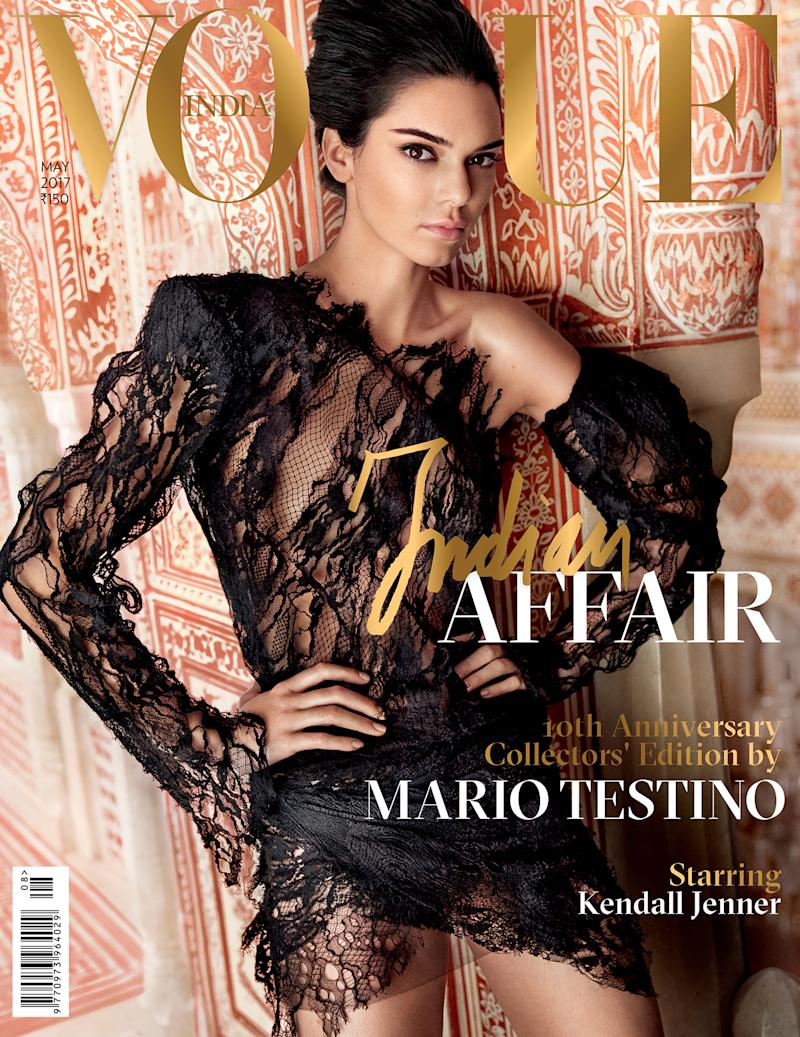 Mario Testino Takes Over Vogue India, With Kendall Jenner
