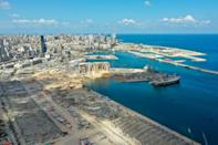 The August 4 blast, which drew comparisons with the Hiroshima atom bomb, was so enormous that it altered the shape not only of Beirut's skyline but even of its Mediterranean coastline
