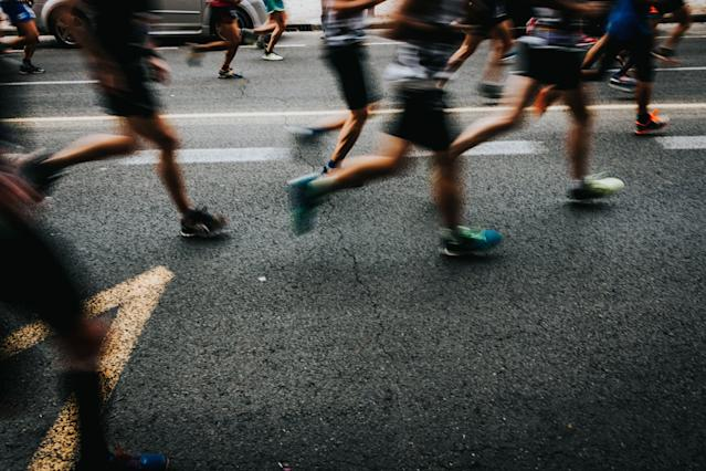 Taylor Ceepo, 22, collapsed and died while running the Cleveland Marathon on Sunday. (Getty)