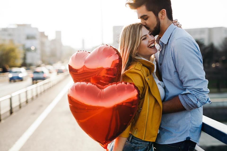 Valentine's Day really is the sweetest when you're a new couple. Photo: Getty
