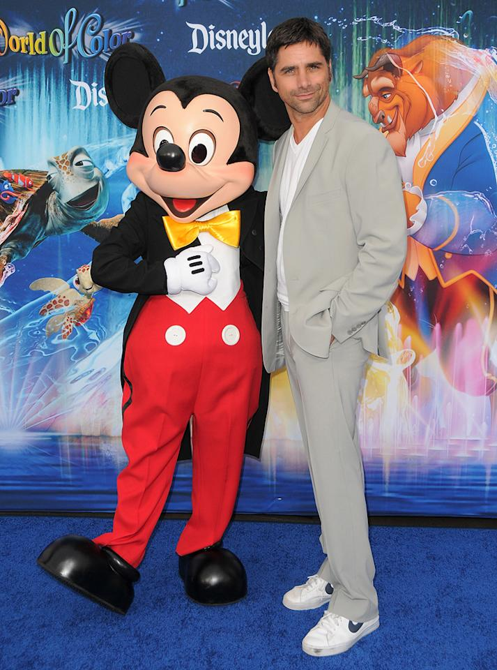 "John Stamos is heading to ""Glee""! The former ""ER"" star, who was spotted at the Disney ""World of Color"" opening night -- and recently appeared in the Broadway production of ""Bye Bye Birdie"" -- told E! Online that he was ready for the challenge. ""I'm singing and dancing every day. All day. So I hope they let me sing and dance a little,"" he said with, yep, that's right, glee. Jordan Strauss/<a href=""http://www.wireimage.com"" target=""new"">WireImage.com</a> - June 10, 2010"