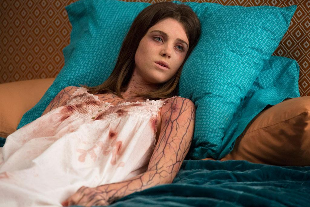 "Lucy Griffiths in the ""True Blood"" Season 6 episode, ""In the Evening."""