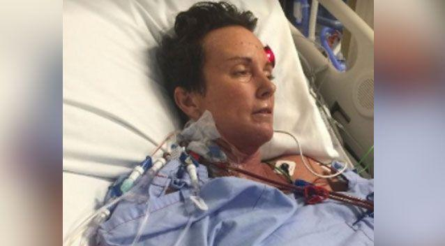 Shelley Hill became severely sick from malaria she contracted in Cambodia. Photo: GoFundMe/ Shelley Hill recovery fund