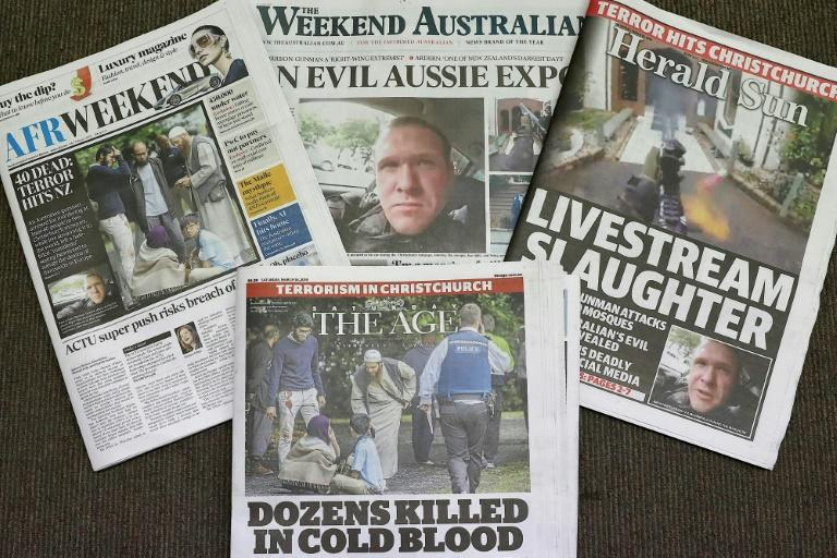 The deadly mosque attack in New Zealand livestreamed around the world raised concerns about the responsibility of online platforms to remove violent and abusive content (AFP Photo/CON CHRONIS)