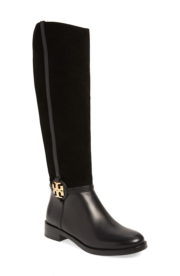 """<p><strong>Tory Burch</strong></p><p>nordstrom.com</p><p><a href=""""https://go.redirectingat.com?id=74968X1596630&url=https%3A%2F%2Fshop.nordstrom.com%2Fs%2Ftory-burch-miller-knee-high-boot-women%2F5389152&sref=http%3A%2F%2Fwww.townandcountrymag.com%2Fstyle%2Ffashion-trends%2Fg29776885%2Fnordstrom-fall-sale-shoes-boots-2019%2F"""" target=""""_blank"""">Shop Now</a></p><p>$333.66</p><p><em>Original Price: $498</em></p>"""