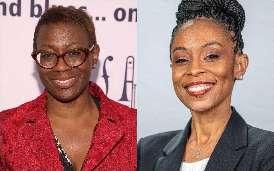 Nina Turner, a former Ohio state senator, left, leads Shontel Brown, a Cuyahoga County councilwoman, in direct fundraising. Brown has the backing of a major super PAC. (Photo: Getty Images/Facebook)
