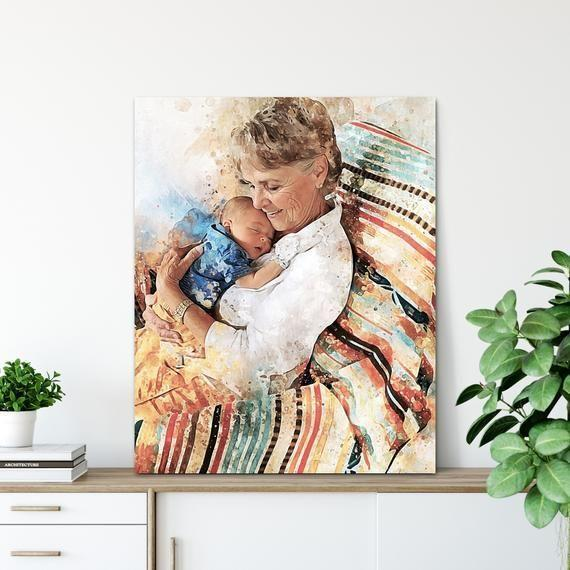 """<p><strong>BeautifulPrint</strong></p><p>etsy.com</p><p><strong>$25.00</strong></p><p><a href=""""https://go.redirectingat.com?id=74968X1596630&url=https%3A%2F%2Fwww.etsy.com%2Flisting%2F857562199%2Fgrandma-gift-birthday-gift-from&sref=https%3A%2F%2Fwww.thepioneerwoman.com%2Fholidays-celebrations%2Fgifts%2Fg35434525%2Fgifts-for-grandma%2F"""" rel=""""nofollow noopener"""" target=""""_blank"""" data-ylk=""""slk:Shop Now"""" class=""""link rapid-noclick-resp"""">Shop Now</a></p><p>Simply send along a photo when you order this listing, and you'll receive a high-quality, wrapped canvas print that she'll treasure for years. It's beyond special.</p>"""