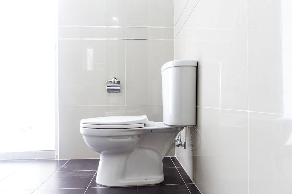 """<p>From the harsh sulfates and bleach you scrub your bowl with, to the noxious chlorine gas you inhale, toilet bowl cleaner can have a serious <a href=""""https://homesteady.com/13421331/what-are-the-dangers-of-toilet-bowl-cleaner"""" rel=""""nofollow noopener"""" target=""""_blank"""" data-ylk=""""slk:impact"""" class=""""link rapid-noclick-resp"""">impact </a>upon your respiratory and circulatory health. </p>"""