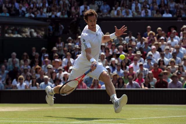 Jack Draper was among the crowd when Andy Murray won Wimbledon in 2013