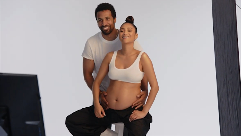 Watch Shay Mitchell's Epic 'Power Rangers'-Themed Gender Reveal