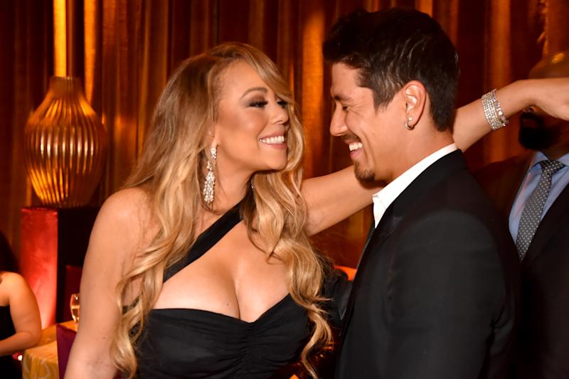 Mariah pictured with Bryan Tanaka